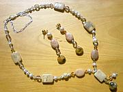 Ocean Jasper Jewelry - Nubian Queen Ceremony by Deborah Lynch