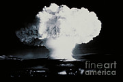 A-bomb Framed Prints - Nuclear Explosion Framed Print by DOE/Science Source