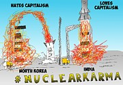 News Mixed Media - Nuclear Karma Binary Option by OptionsClick BlogArt