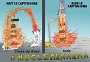 News Mixed Media - NuclearKarma en BD by OptionsClick BlogArt