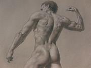 Nude - 8 A Print by Valeriy Mavlo