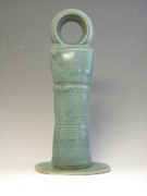 Landscapes Ceramics - Nude Bather Rising From The Sea Ii by Stephen Wisniewski