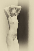 Sculpture For Sale Prints - Nude Print by Carolyn Dalessandro