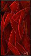 Nude Digital Art - Nude Dancer by David Kyte