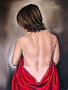 Ilse Kleyn Framed Prints - Nude  Hundred and Thirteen of Seven Framed Print by Ilse Kleyn