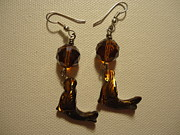 Dangle Earrings Jewelry Originals - Nude Mermaid Earrings by Jenna Green