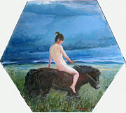 Ji-qun Chen - Nude On The Horse