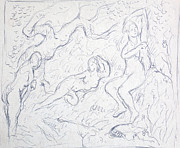 Nude Souls Print by Bill Joseph  Markowski