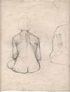 Nude Study 4 Print by Brian Francis Smith