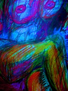 Nude Study Print by Allen n Lehman