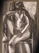 Nude Study Print by Michelle Gonzalez