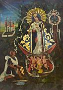 Devotional Paintings - Nuestra Senora de Ocotlan II by Unknown