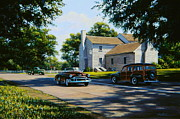 Kentucky Paintings - Nugents Cross Roads by Frank Dalton