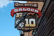 Hickok Prints - Number 10 Saloon Print by Dany Lison