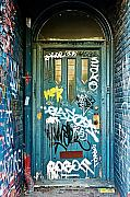 Grafitti Photos - Number 652 by Linda McRae