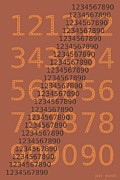 Numbers Digital Art - Numbers by Pere Punti