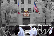 Black Commerce Art - Nuns in New York City by Brian Lambert
