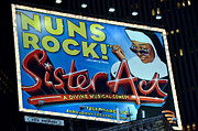 Times Square Art - Nuns Rock by Pravine Chester