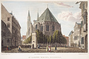 St.henri Framed Prints - Nuremberg, Germany, 1839 Framed Print by Granger