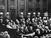 Goering Photos - Nuremberg Trials,first Row Hermann by Everett