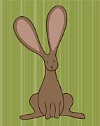 Nursery Art Bunny Print by Christy Beckwith