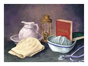 Medical Paintings - Nursing by Jeff Conway