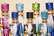 Nutcrackers Prints - Nutcracker March Print by Traci Cottingham