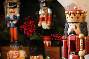 Nutcrackers Prints - Nutcrackers No 1 Print by Alycia Christine