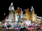Tropicana Las Vegas Prints - NY in Vegas Print by Rod Jones