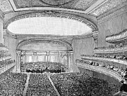 Conducting Prints - Nyc: Carnegie Hall, 1891 Print by Granger