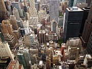 Aerial Photos - NYC Cityscape by Nina Papiorek