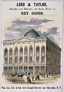 Department Prints - Nyc Department Store, 1854 Print by Granger