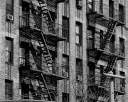 Katie Victoria - NYC Fire escapes