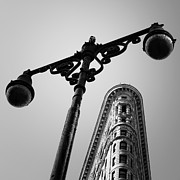 Iron  Photo Prints - NYC Flat Iron Print by Nina Papiorek