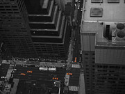 Taxi Cab Photos - NYC from the Top 1 by Irina  March