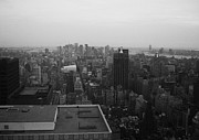 New York Framed Prints - NYC from the Top 5 Framed Print by Irina  March