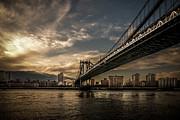 Hannes Cmarits - NYC Golden Manhattan Bridge