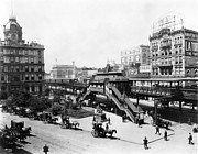 32nd Prints - Nyc: Greeley Square, 1898 Print by Granger
