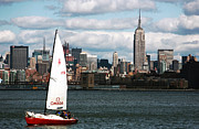 Landscapes Art - NYC Harbor View by John Rizzuto