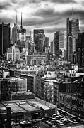 City Buildings Prints - Nyc Print by Mauricio Jimenez