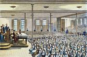 Nyc School Room, 1881 Print by Granger