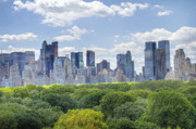 Central Park Digital Art Prints - NYC Skyline Day Print by Ariane Moshayedi