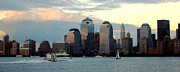 Nyc Skyline Print by Judee Stalmack