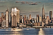 Skylines Art - NYC Skyline by Susan Candelario