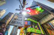 Traffic Signal Posters - NYC Street Signs Poster by Yhun Suarez