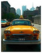 New York City - Artist Alexander Aristotle - NYC Taxi