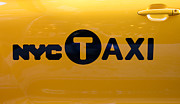 Garage Wall Art Prints - Nyc Taxi Print by Paul Ward