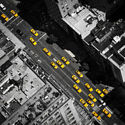 Thomas Richter Metal Prints - NYC Taxi Metal Print by Thomas Richter
