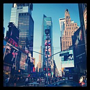 Midtown Art - #nyc #timessquare #midtown #broadway by Jennifer Silva