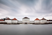 Nymphenburg Framed Prints - Nymphenburg Castle Framed Print by Carlos Malvar